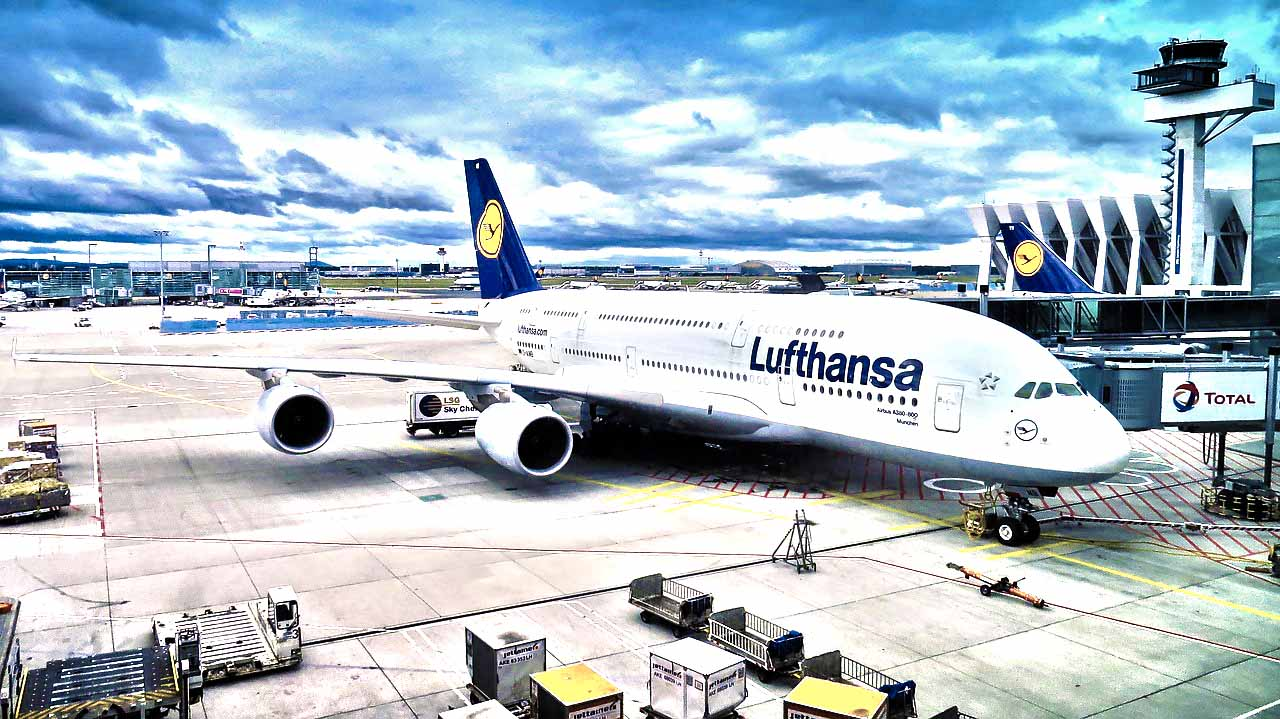 Fly with Lufthansa