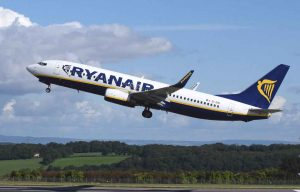 Fly with Ryan Air