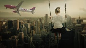 fly with Children with Wizz Air