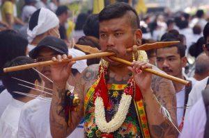 Phuket Vegetarian Festival in Thailand
