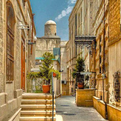 Getting around Baku