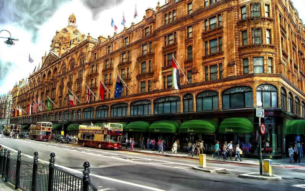 One week in London, Harrods